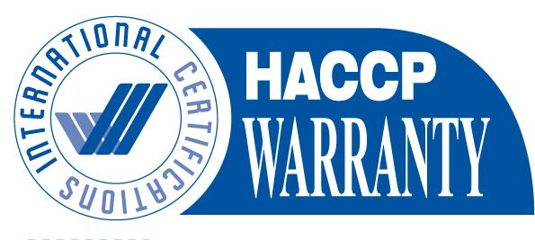 EXL HACCP-Warranty